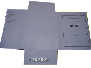 Bìa hồ sơ 3 tai, nhìn tổng thể
